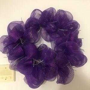 🌹🌸 Beautiful Purple Wreath 🌸